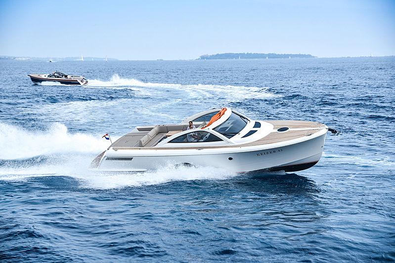 KEIZER 42 tender Keizer Yachts