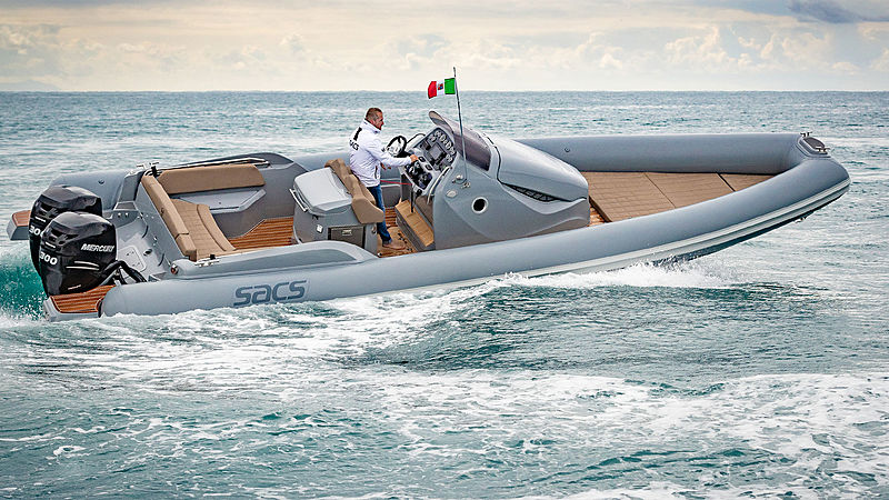 SACS STRIDER 10 tender Sacs Marine