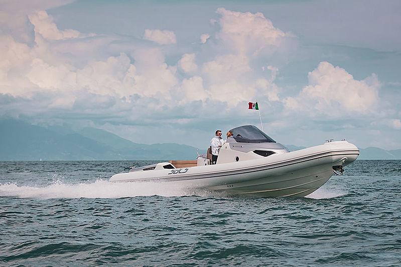 SACS STRIDER 11 tender Sacs Marine