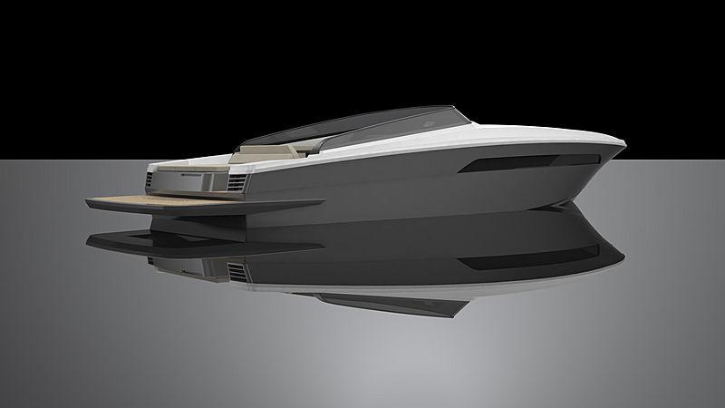AQA 47 tender AQA Yacht