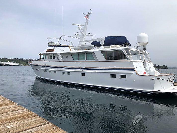 LADY FAYE yacht Burger Boat Company