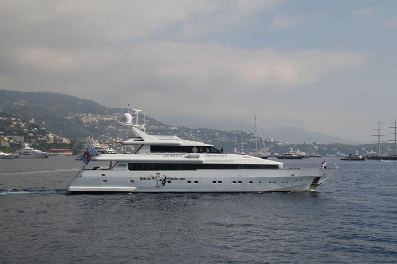 Indigo Star leaving Monaco