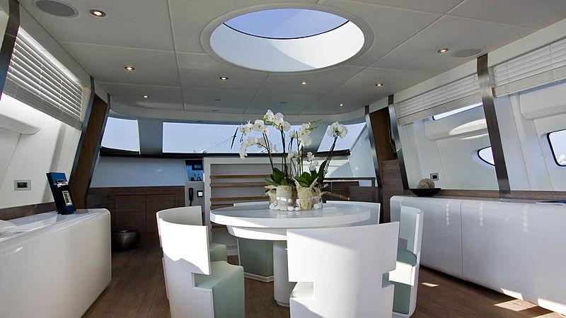 AHT yacht saloon