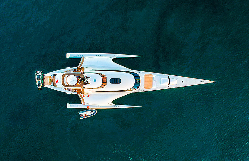 Galaxy of Happiness yacht in Cala di Volpe