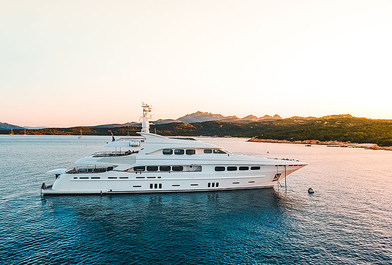 Latitude yacht by Acico in Cala di Volpe