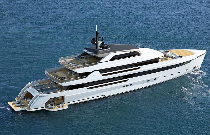 Sanlorenzo 62Steel superyacht
