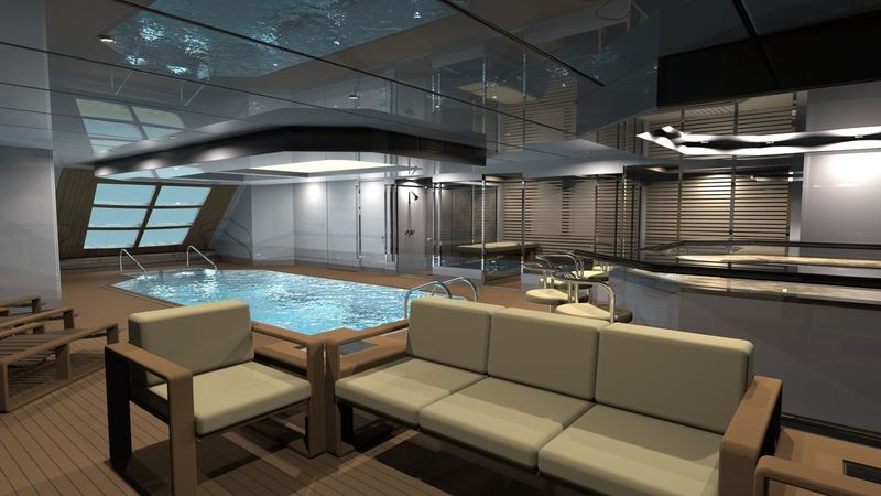 Bilgin 263 beachclub rendering