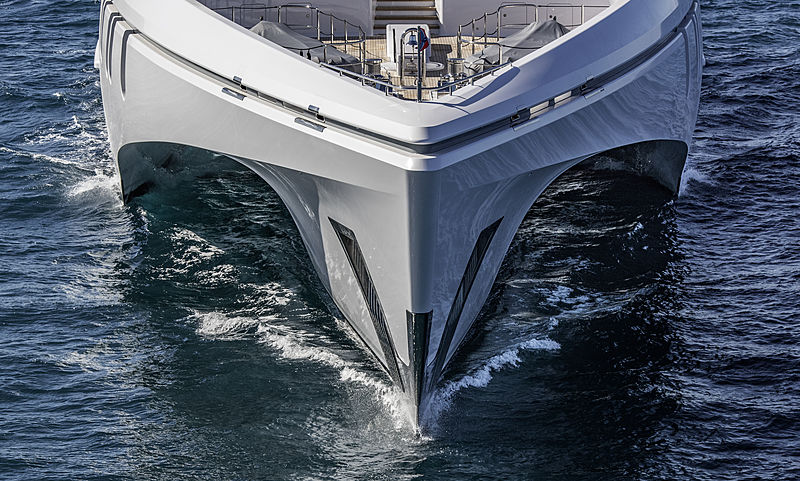 White Rabbit yacht exterior