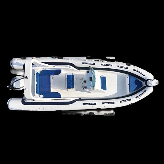 Calletti Sportline 760PL tender exterior