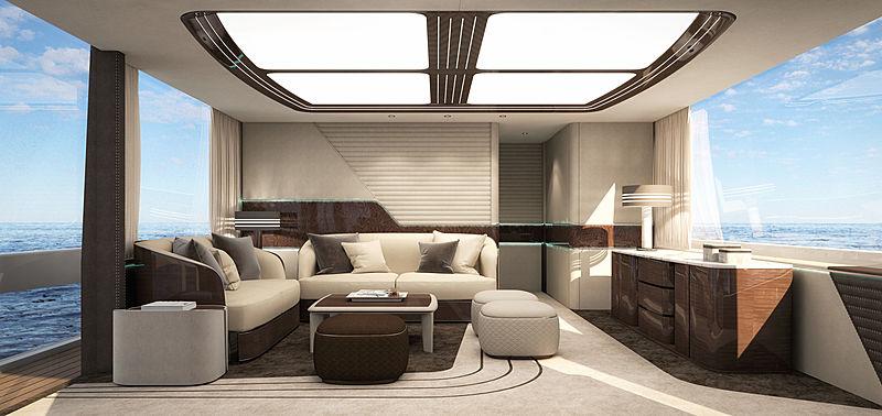Dynamiq yacht GTM 90 interior design