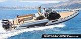 Cayman 38 Executive tender exterior