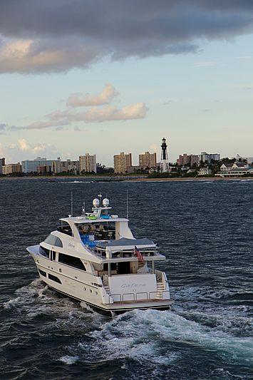 Catera yacht cruising