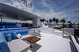 Catera yacht flybridge