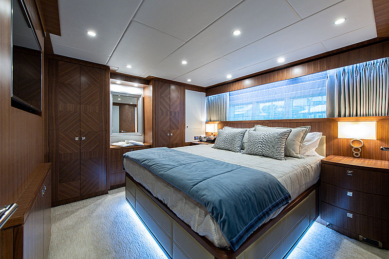 Catera yacht starboard stateroom