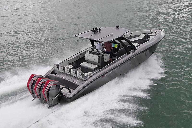 MIDNIGHT 37 OPEN tender Midnight Express Power Boats