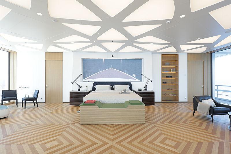 Luminosity yacht stateroom