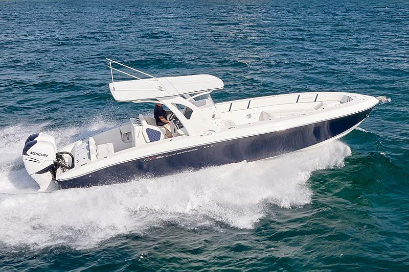 MIDNIGHT 34 OPEN tender Midnight Express Power Boats