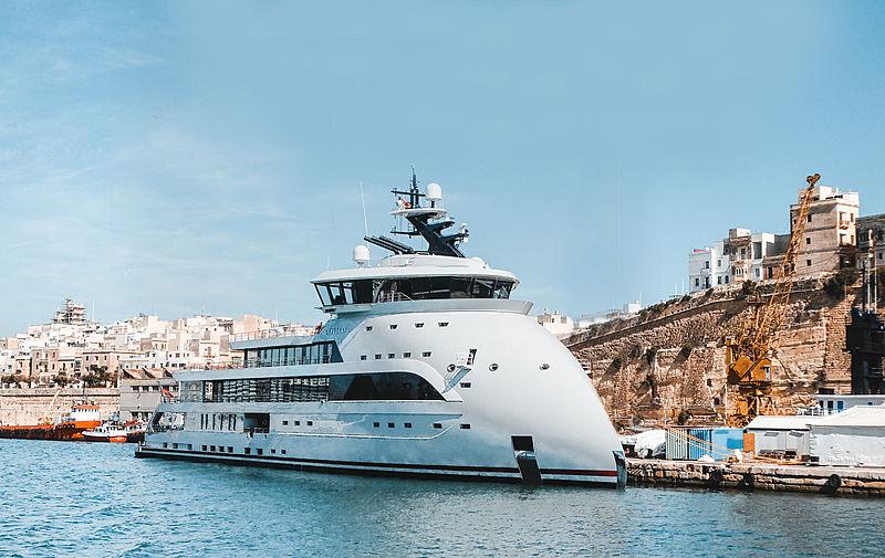 Olivia O yacht in Malta