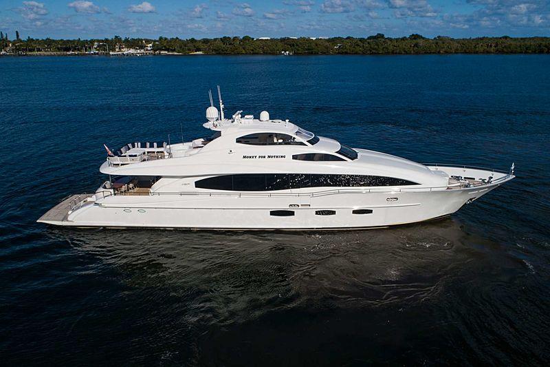 MONEY FOR NOTHING yacht Lazzara