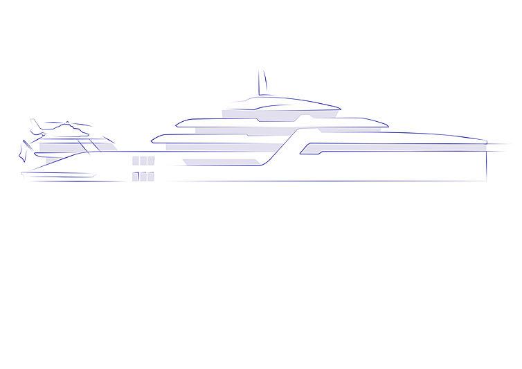Sturge Design 96m yacht Project Rimor-X
