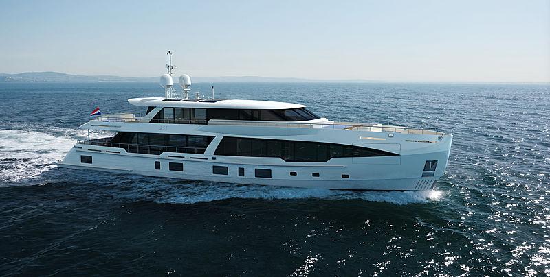 M55 yacht