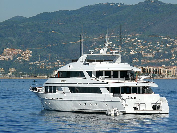 Ineke IV yacht anchored off Cannes