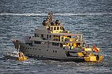 Plan B yacht departing Port Everglades