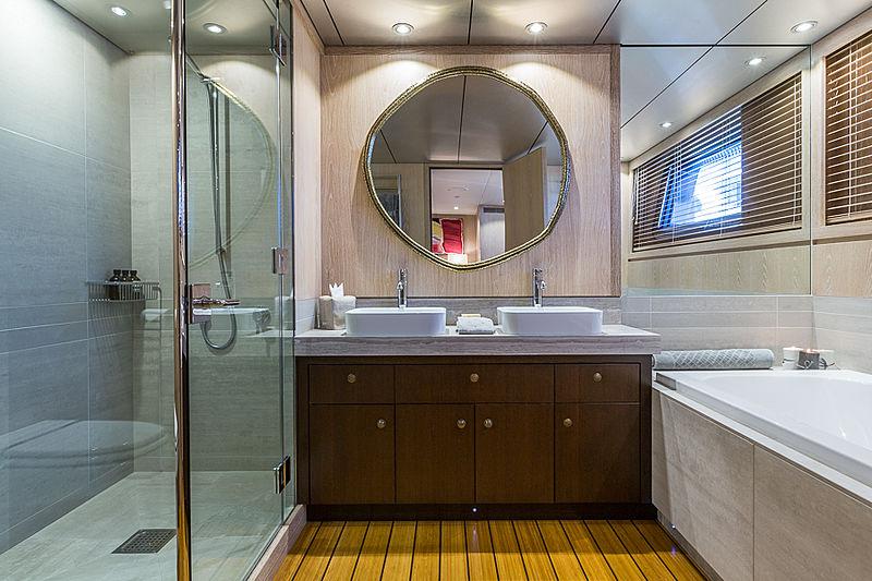 Akiko yacht interior