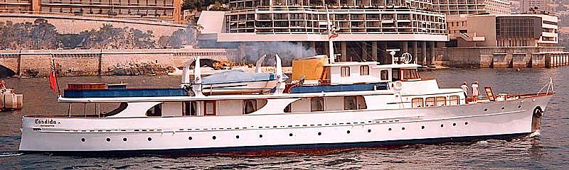 Candida yacht in Monaco