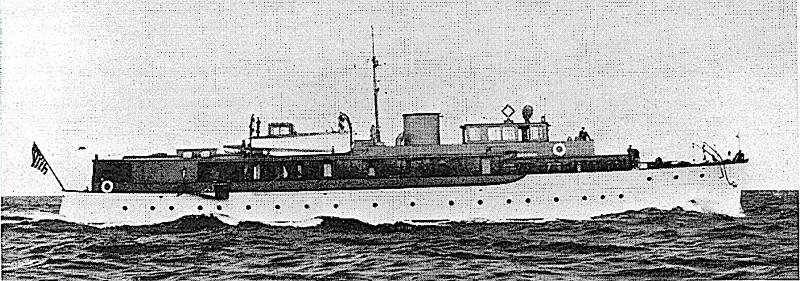 Shogun yacht cruising