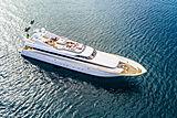 My Flower I yacht aerial