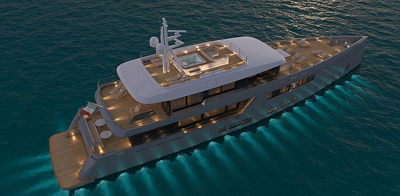Versilcraft SportAdventure 45 yacht exterior design