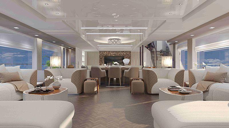 Versilcraft SportAdventure 45 yacht interior design