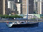 Saudade yacht off Monaco