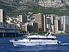 Laetitia yacht off Monaco