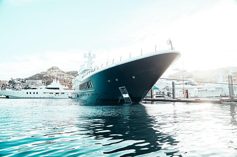 Air yacht by Feadship in Cabo San Lucas