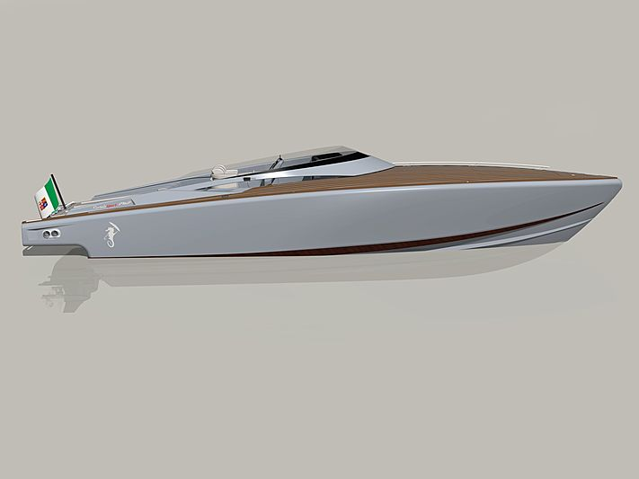Levi Corsair Sport PMP tender exterior design