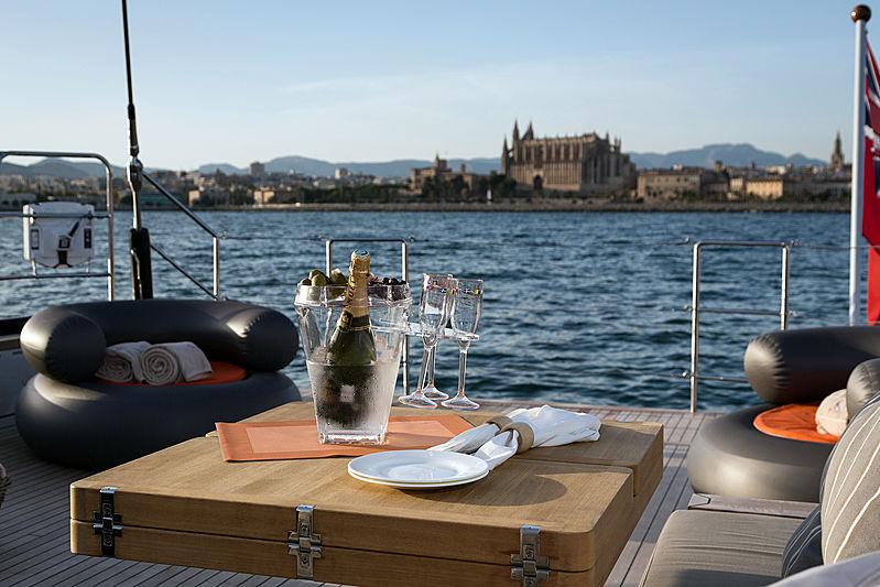 Sea Eagle I yacht deck