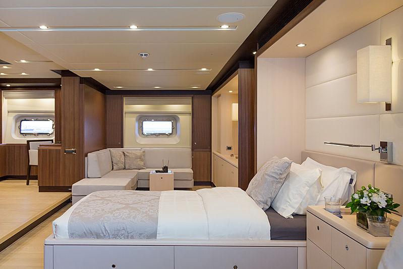 Sea Eagle I yacht stateroom