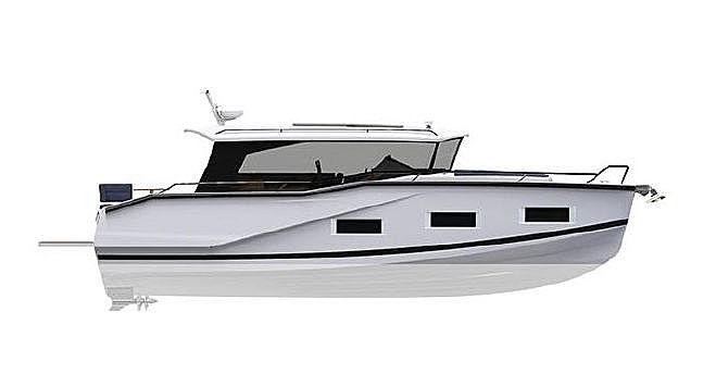 DROMEAS D44 HT tender Dromeas Yachts