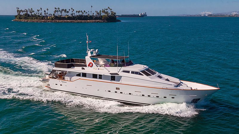 Pacific Pearl yacht cruising