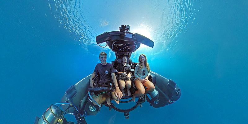 Game Changer yacht submarine