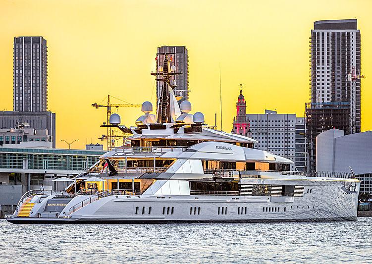 Bravo Eugenia yacht by Oceanco in Miami