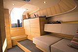 Steeler Bronson 34 tender interior