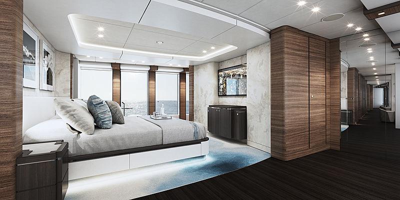 Heesen Project Altea yacht rendering