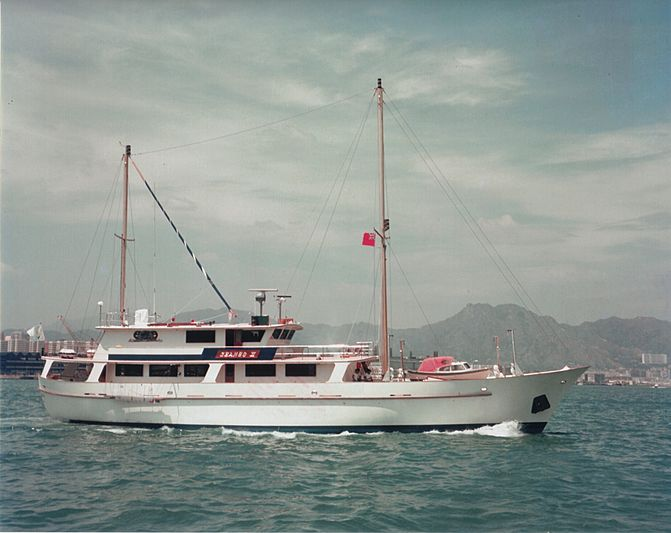 Choey Lee yacht Shango II