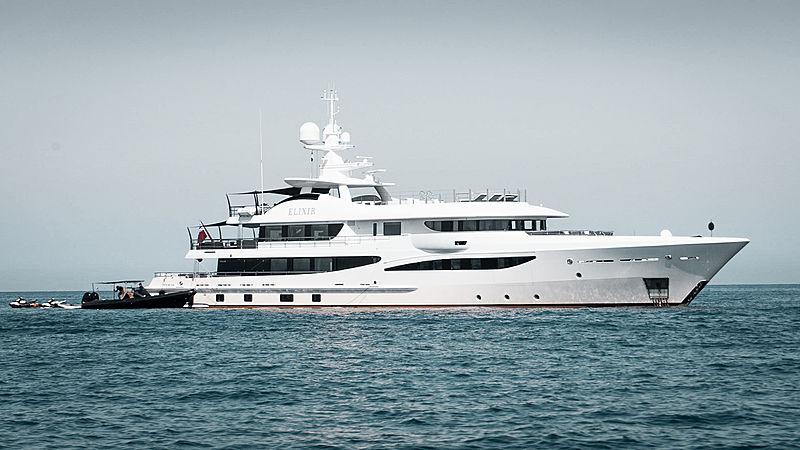 Motor yacht Elixir by Amels in Corsica
