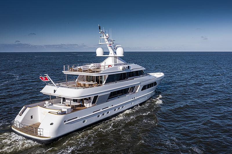 Lady Charlotte yacht