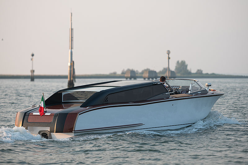 VIZIANELLO GV 30 THUNDER WATER LIMOUSINE tender Cantieri Navali Vizianello
