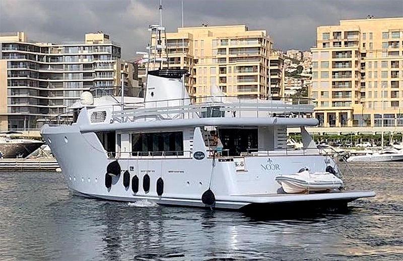 NOOR  yacht B&G Navi